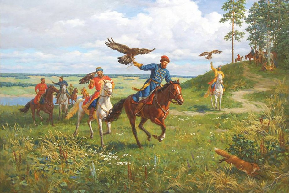 История соколиной охоты